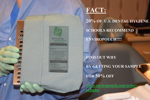 sertilization pouches recommended for dental hygiene schools