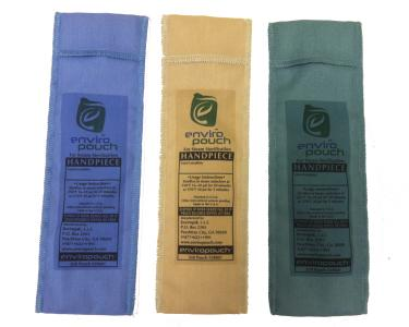 EnviroPouch™ reusable steam sterilization pouches take up only 3.5 cubic inches of valuable space.