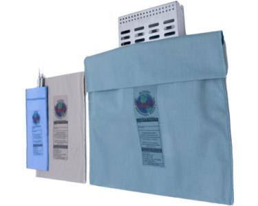 EnviroPouch® reusable steam sterilization pouches come in many sizes.